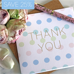 Thank You greeting card – 10 pack