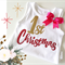 Baby Girl's First Christmas Onesie All sizes available