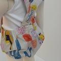 Watercolour Bright Splash Romper you pick the size