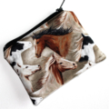 Little coin purse with gorgeous horse design