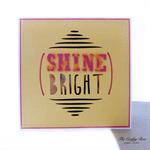 Shine Blank Greeting Card