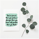 You're Braver Greeting Card