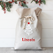 Large Personalised Santa Sack -  Tree