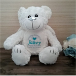 Personalised Teddy Bear; Angel Bear; Baby Gift; Christening Gift; Memorial Gift