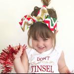 Christmas Sparkle Headwrap, headband, sparkle, baby, girl, toddler
