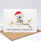 Christmas Card - Koala with Christmas Lights - XMS036
