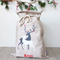 Large Personalised Santa Sack -  Reindeer