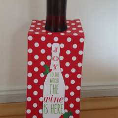 Christmas Wine Bottle Tags - PERSONALISED