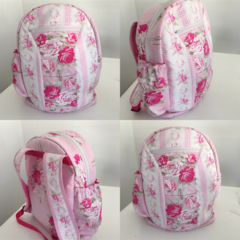 Floral Kids Backpack//school Bag // Daycare Bag // Kinderbag