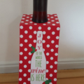 Christmas Wine Bottle Tags - PERSONALISED