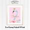 Swan Princess Portrait A4 Print