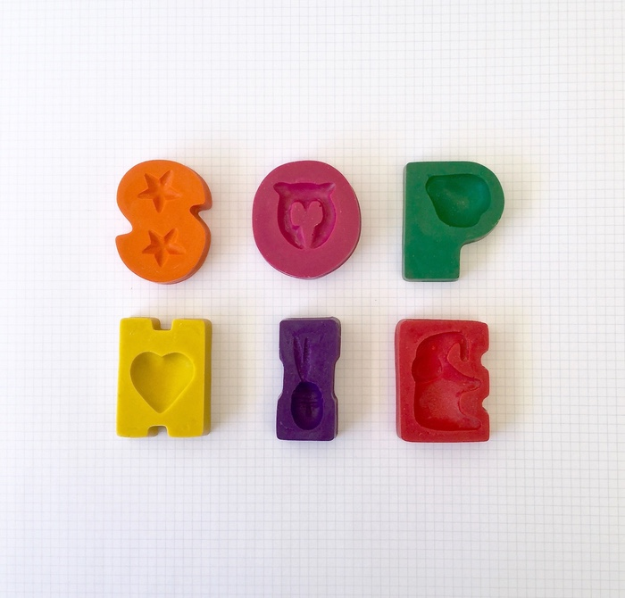 6 Letter Name Crayons   Personalised | Funny Little Things