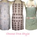 Decorative  Kitchen Basics Cotton Apron * Pick One Style * Tween - Teen -  Adult