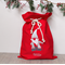 Large Personalised Santa Sack Red -  Santa Red