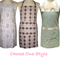 Decorative  Kitchen Basics Cotton Apron * Pick One Style * Tween - Teen -  Adult