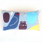 Marimekko Animal Forest Pillow Cover. Blue Bird Oblong Pillow Cover for Kids.
