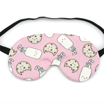 Milk and Cookies Sleeping Eye Mask / Night Mask
