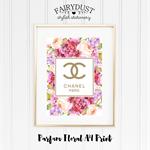 Floral Parfum A4 Print