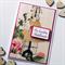 Friendship her friend mum daughter birthday vintage blooms mannequin card