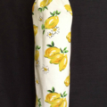 Plastic Grocery Bag Holder - Lemons