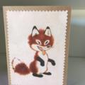 Cheeky fox card