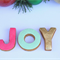 Christmas gingerbread gift boxed - 'JOY'
