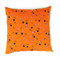 Spooky  Skeletons Cushion Cover in Orange and Purple. Christmas Gift for Kids