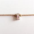 Initial Bracelet - K