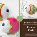 Emma ~ Baby Rattle Soft Toy Sewing Pattern - PDF