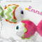 Emma ~ Baby Rattle Soft Toy Sewing Pattern - PDF
