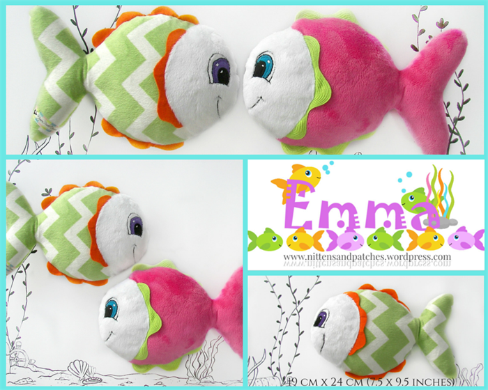 Emma ~ Baby Rattle Soft Toy Sewing Pattern - PDF | Mignon Prider ...