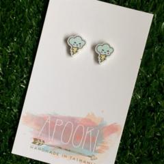 Storm Cloud Earrings - Buy 3 get 4th Pair FREE
