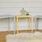 Vintage Pastel Set of Three Nest of Tables
