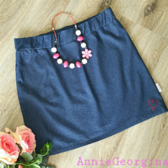 Women's Denim Skirt Size XLarge
