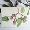 Silver Princess eucalyptus tree branch - A4 horizontal print
