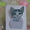 Acrylic Cat Brooch