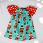 Girls Christmas dress Sz 1yr left in stock SALE!