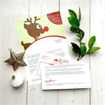 Personalised letter from Santa - 'Reindeer Post'