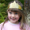 Mini Glitter Tiara Crown - Stocking Stuffer - Princess Party Crown Party Favour