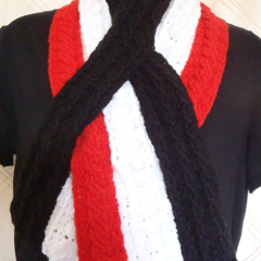 AFL St. Kilda - Stylish Crochet Hats Scarves Beanies - Unisex