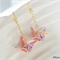 Origami Crane Earrings - Rainbow