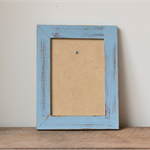 Shabby Chic Coastal Blue Distressed Photo Frame - 7x5 inches