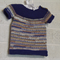 Hand Knit, 3-6mths Baby Vest Shirt