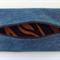 Upcycled Denim Pencil Case - Jaffa