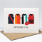 Birthday Card Male - Happy Birthday - AFL Footy Jerseys - HBM074
