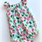 Little Birdie Christmas Seaside Baby Romper / Playsuit   Size 0 (6 - 12 months)