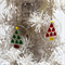Unique Fused Glass Bauble, Sun Catcher - Christmas Decoration