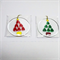 Unique Fused Glass Bauble, Sun Catcher - Christmas Decoration