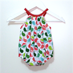 'Little Birdie' Christmas Darling Playsuit / Romper