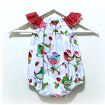 Hello Birdie Christmas Seaside Baby Romper / Playsuit  